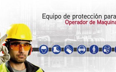 Equipo de protección para un operador de maquinaria pesada