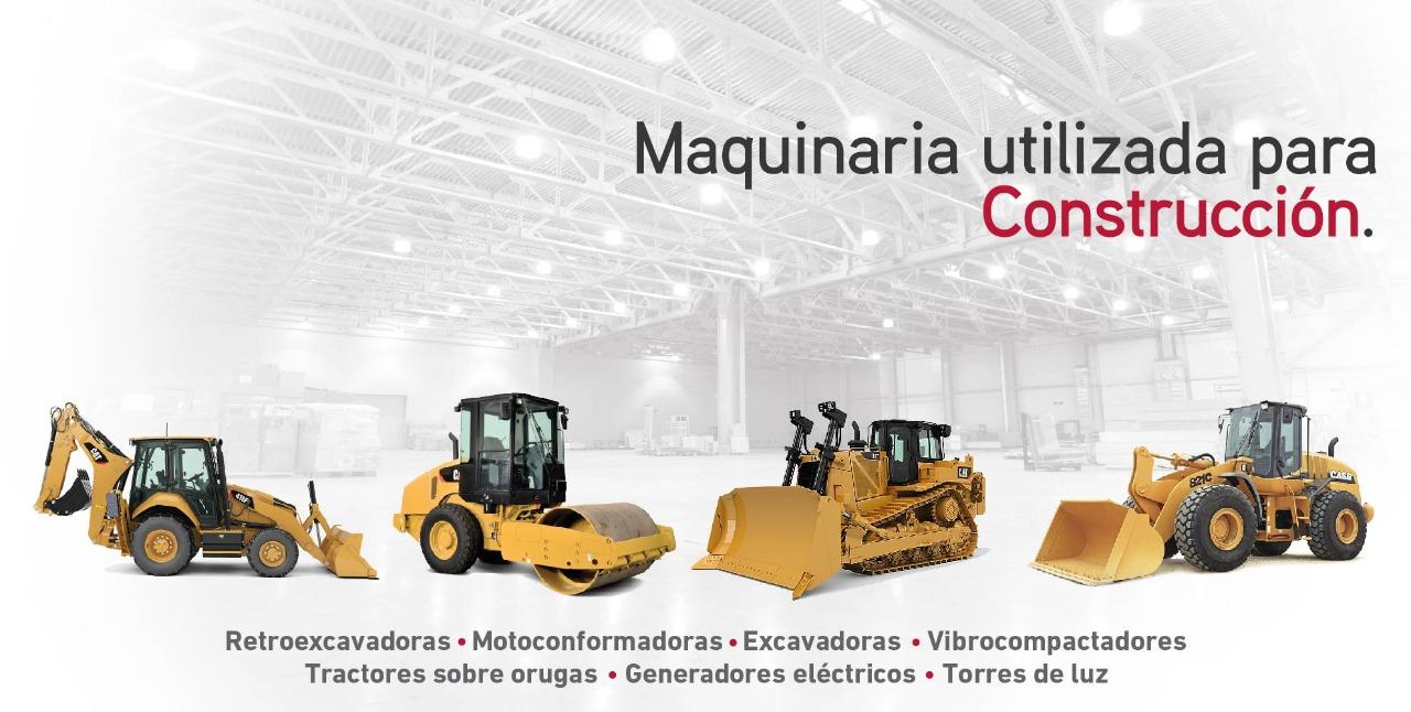 Maquinaria utilizada para construcción
